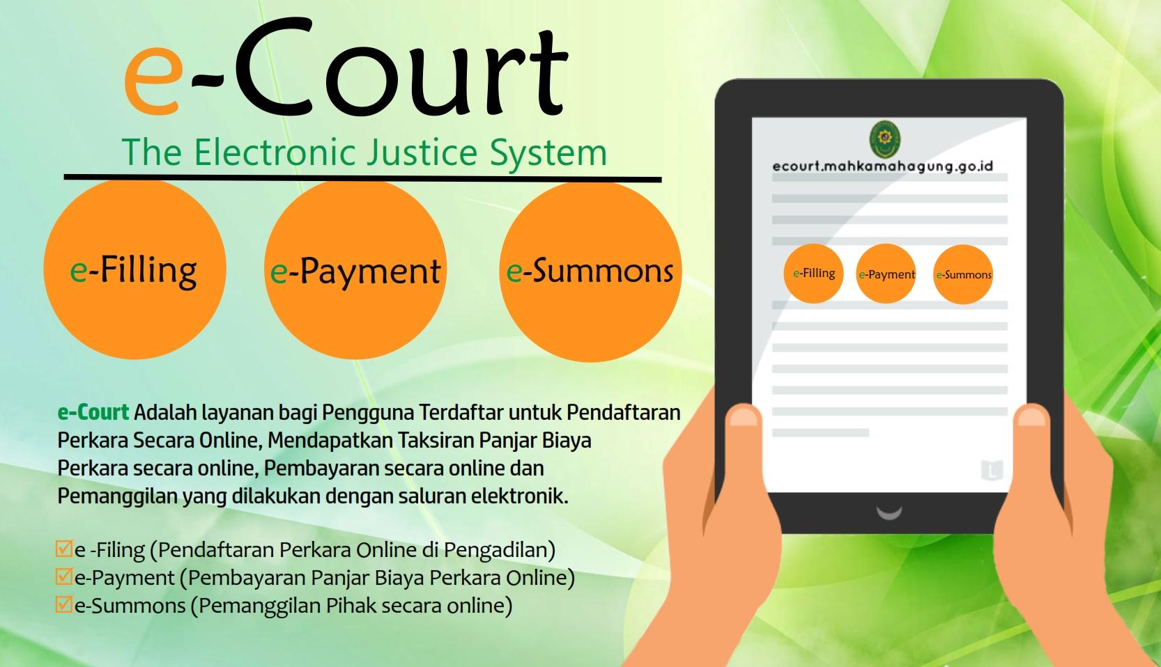 Aplikasi E-COURT